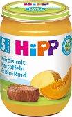 HiPP - Био пюре от картофи с тиква и телешко -
