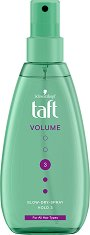Taft Volume Blow Dry Spray - шампоан