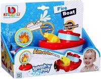 """Пожарникарска лодка - Детска играчка от серията """"Junior"""" -"""