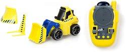 Булдозер - Играчка с дистанционно управление и приставки -