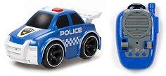 Полицейска кола - Играчка с дистанционно управление -
