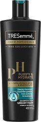 Tresemme Purify & Hydrate Shampoo - крем