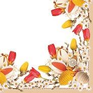 Салфетки за декупаж - Великденска украса - Пакет от 20 броя