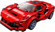 """Спортен автомобил - Ferrari F8 Tributo - Детски конструктор от серията """"LEGO: Speed Champions"""" -"""
