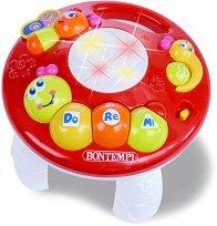 Музикална масичка - Детска играчка със светлинни и звукови ефекти -