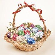 Салфетки за декупаж - Великденска кошница - Пакет от 20 броя