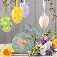 Салфетки за декупаж - Цветен Великден - Пакет от 20 броя