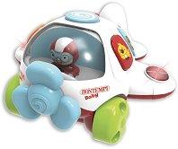 Музикално самолетче - Детска играчка със светлинни и звукови ефекти -
