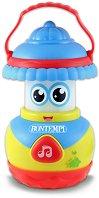 Музикално фенерче - Детска играчка със светлинни и звукови ефекти -