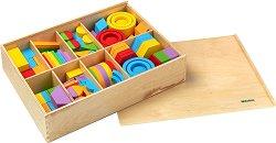 """Даровете на Фрьобел - Детски дървен конструктор от серията """"Education"""" -"""