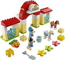 """Конюшня с понита - Детски конструктор от серията """"LEGO Duplo"""" -"""