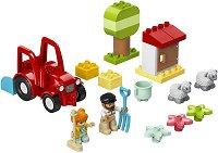 """Трактор - Детски конструктор от серията """"LEGO Duplo"""" -"""