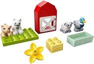 """Животните от фермата - Детски конструктор от серията """"LEGO Duplo"""" -"""