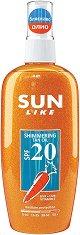 Sun Like Shimmering Tan Oil - SPF 20 - крем