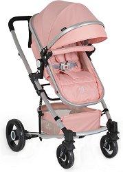 Комбинирана бебешка количка - Gigi - С 4 колела -