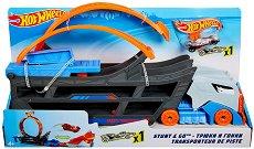 """Писта транспортьор - Детски комплект за игра с количка от серията """"Hot Wheels"""" -"""