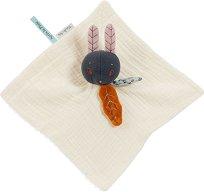 """Кърпа за игра - Зайчето Lune - Детска играчка за гушкане от серията """"Apres la pluie"""" -"""