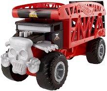 """Гараж писта - Monster Truck Skull - Oт серията """"Hot Wheels"""" -"""