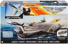 Самолетоносач - Детски комплект за игра със самолетче -
