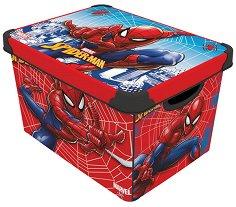 Кутия за съхранение - Спайдърмен - детска бутилка