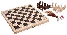 Табла, шах и зарове -