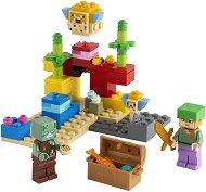 LEGO: Minecraft - Коралов риф - играчка