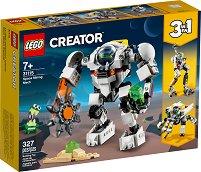 LEGO: Creator - Космически миньорски робот 3 в 1 -