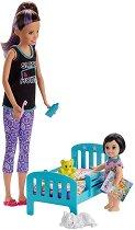 Барби детегледачка - Време е за сън - кукла