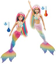 Барби - Русалка със сменящ се цвят - кукла