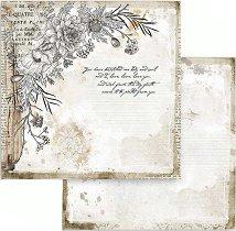 Хартия за скрапбукинг - Цветя