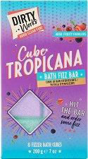 Dirty Works Cube Tropicana Bath Fizz Bar -