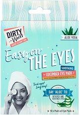 Dirty Works Easy On The Eyes Cucumber Eye Pads - крем