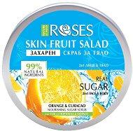 Nature of Agiva Roses Fruit Salad Nourishing Sugar Scrub - маска