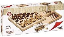 Шах, табла и дама -