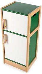 Дървен хладилник -