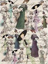 Декупажна хартия - Мода