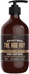Scottish Fine Soaps Whisky Wash The Rob Roy Hand & Body Wash -