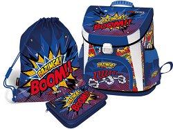 Ученическа раница - Supercomics Bazinga - раница
