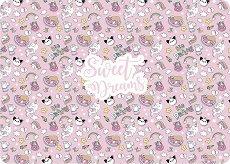 Двустранна подложка за бюро - Sweet Dreams