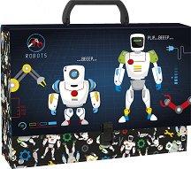 Кутия със закопчалка и дръжка - Роботи