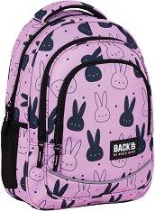 Ученическа раница - Back Up: X 35 Pink Rabbit -