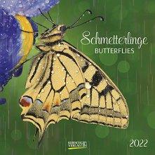 Стенен календар - Schmetterlinge 2022 -