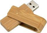 USB 2.0 флаш памет 8 GB - Wood