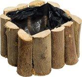 Дървена кашпа - Гора