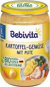 Bebivita - Био пюре от картофи, зеленчуци и пуешко месо -