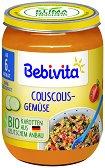 Bebivita - Био пюре от кускус със зеленчуци -