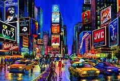 Таймс Скуеър, Ню Йорк - Неонов пъзел -