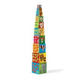 Пирамида от кубчета - Моите приятели - раница