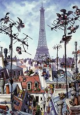 Айфеловата кула - пъзел