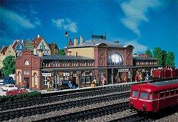 ЖП гара - Mittelstadt station - Сглобяем модел -